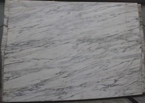 "Calacatta Borghese Polished Marble Slab 75""x104""x3cm"