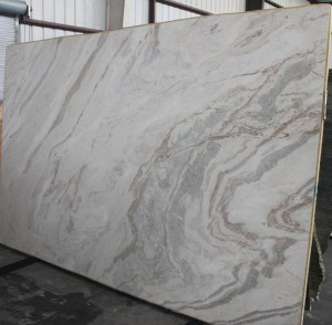 "Dolce Vita Polished Soft Quartzite Slab 73""x118""x3cm"