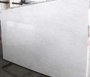 "Opal White Polished Marble Slab 69""x120""x3cm"
