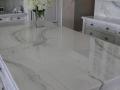 Bianco Lasa Marble Island Countertop