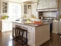 Semi-Precious White Natural Quartz Kitchen Countertops